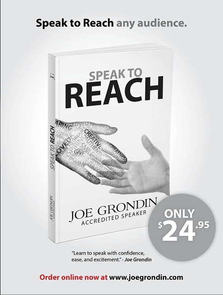 Joe Grondin - SPEAK TO REACH [book]