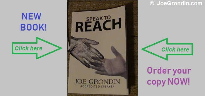 Joe Grondin - Speak to Reach